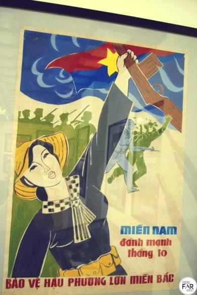 Propaganda poster. I didn't mind the simple design of it.