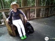 Kate at Sea Acres Rainforest